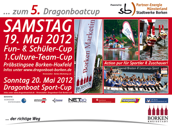 Technik Support Dragonboatcup 2012