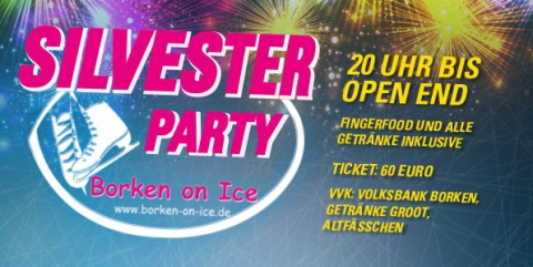 Borken on ICE - Silvester Party